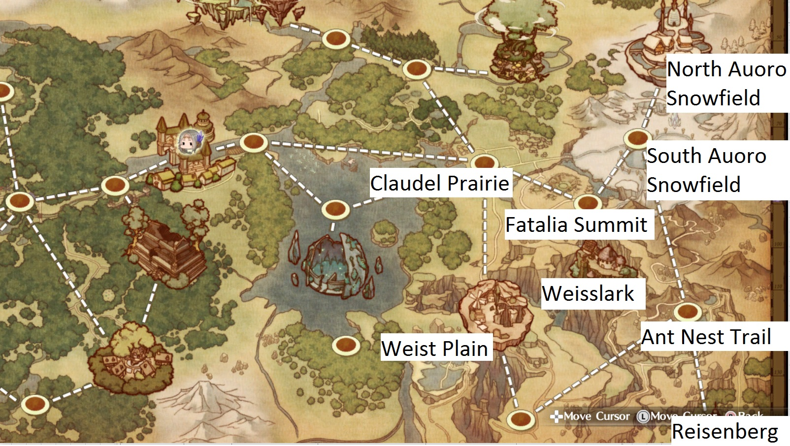 Atelier Firis World Map Steam Community :: Guide :: General reference guide (up to Flussheim)