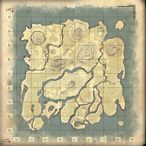 Ark the island resource map