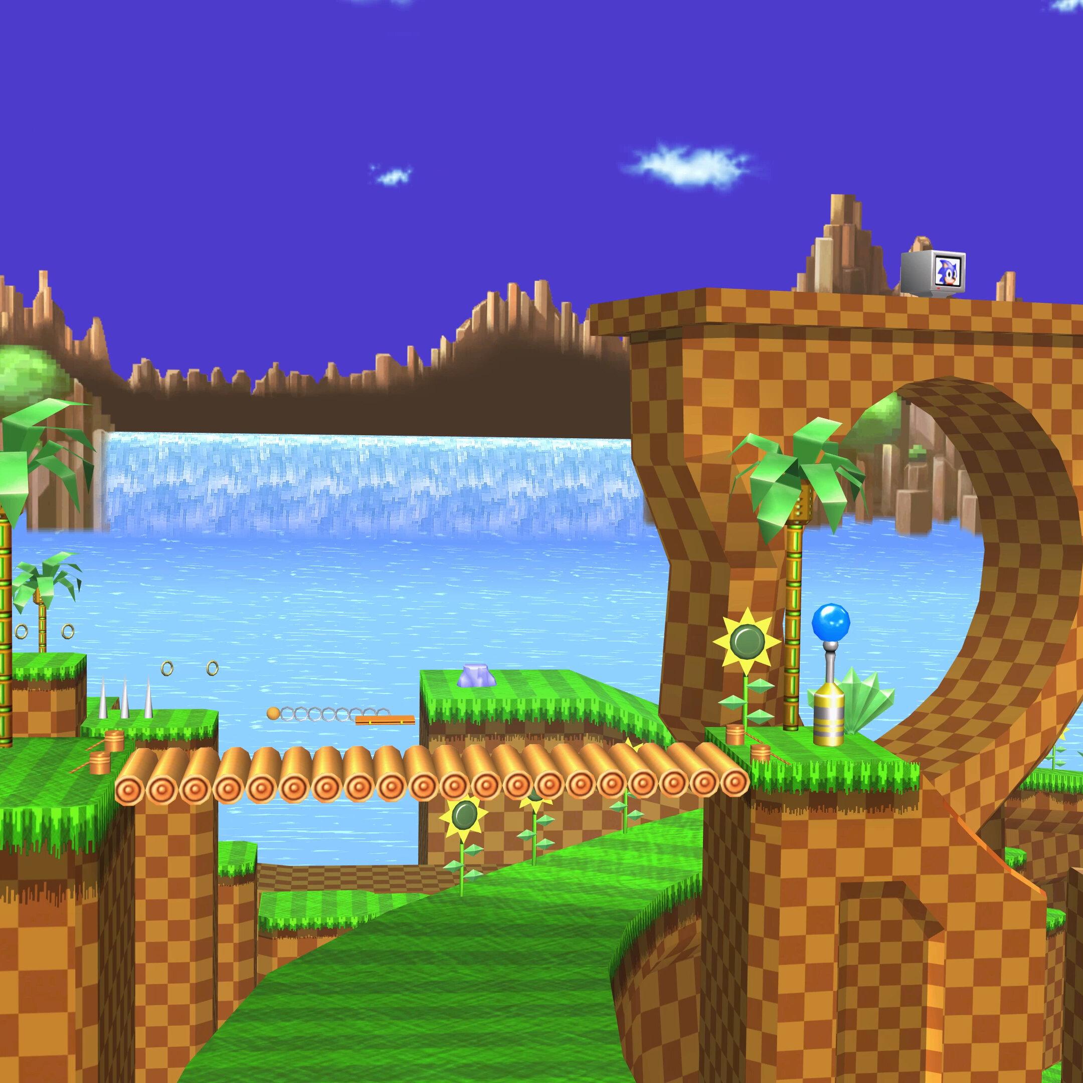 Steam Workshop Vgw 4k Sonic The Hedgehog Green Hill Zone 2