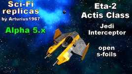 steam workshop star wars eta 2 actis class jedi interceptor