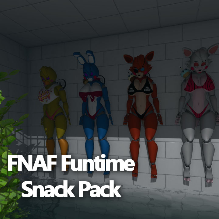 FNAF FUNTIME SNACK PACK (FNAF Outfits)