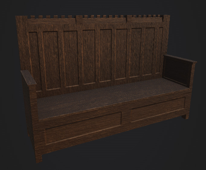Fabulous Steam Workshop Medieval Bench Machost Co Dining Chair Design Ideas Machostcouk