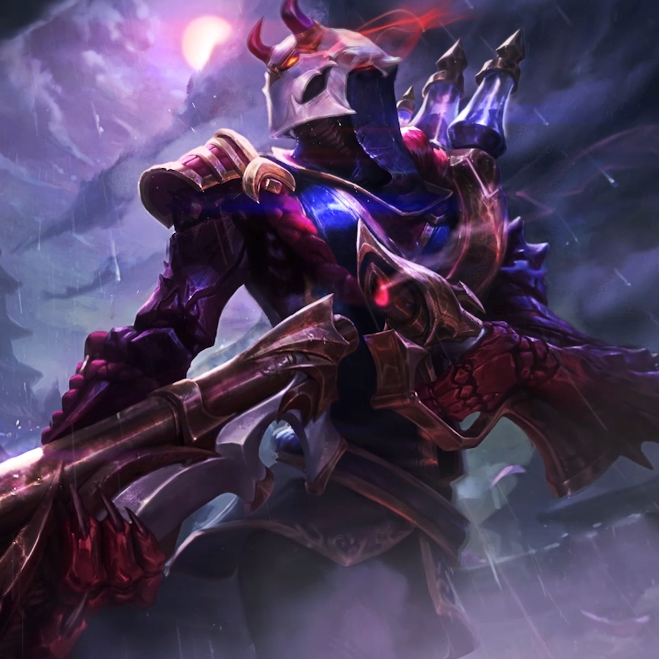 BLOOD MOON jhin Wallpaper Engine
