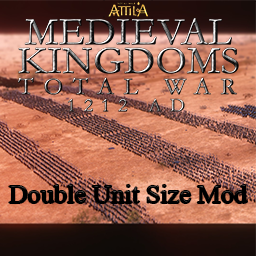 *Outdated* Medieval Kingdoms 1212AD - Double Unit Size