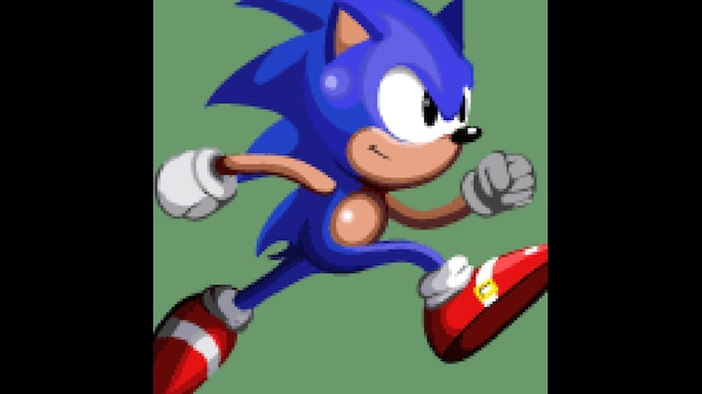 Steam Workshop Classic Sonic Running Animated Gif
