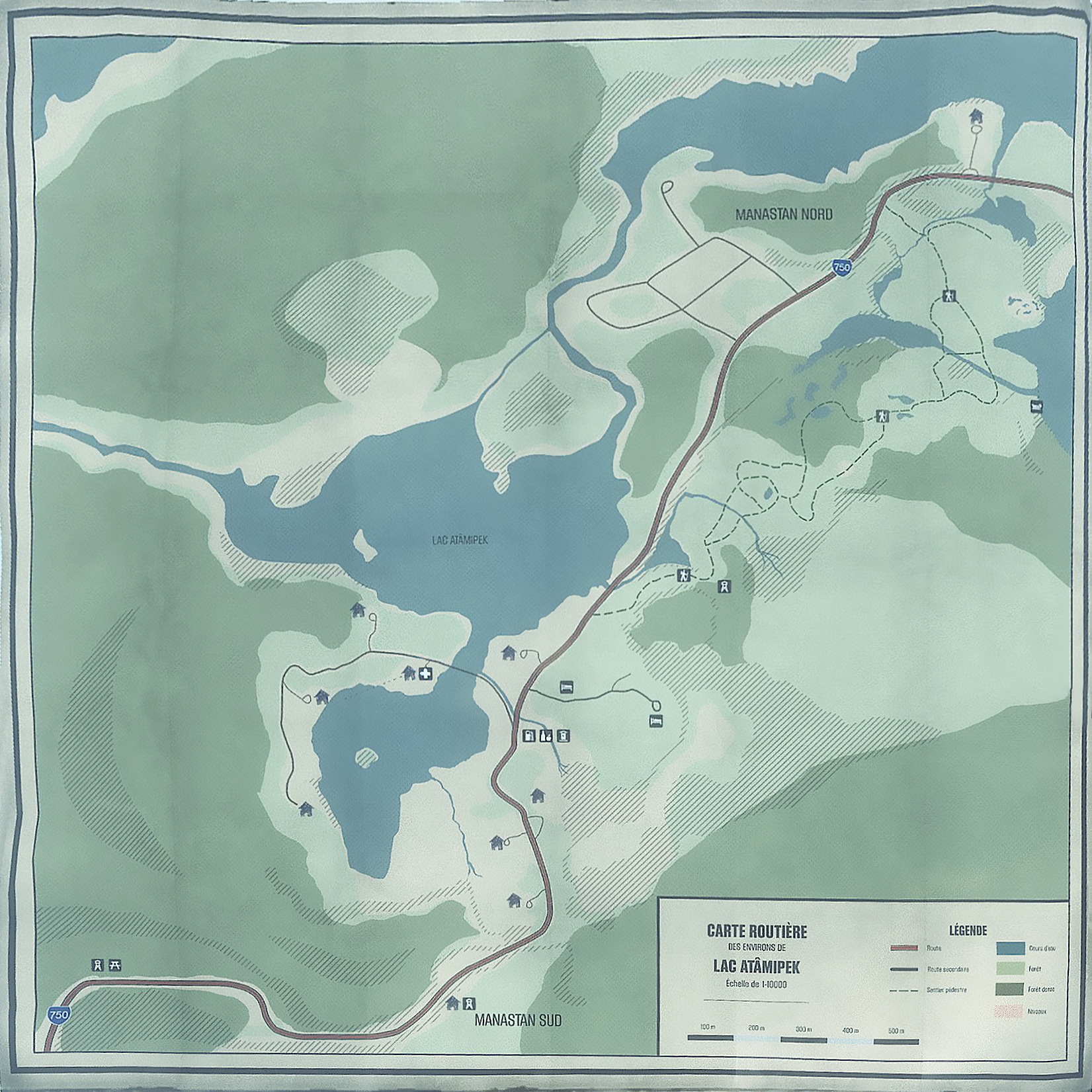 Steam Community Guide KONA Paper map