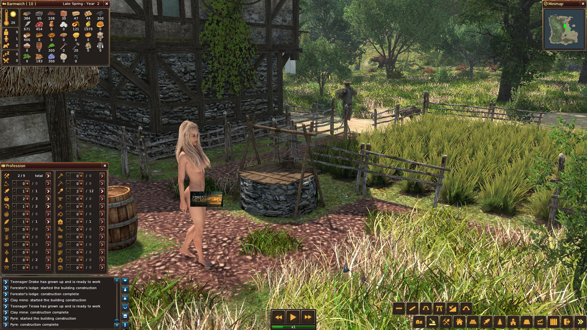 Life is feudal forest village donkey farm ролевая игра по наруто и