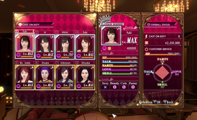 0 hostess guide yakuza The Hostess