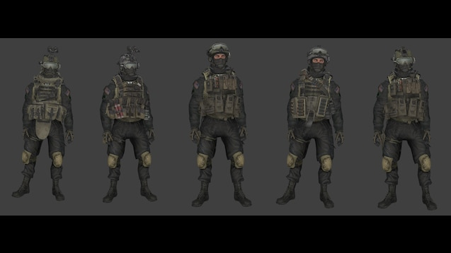 Steam Workshop Codmw2 Shadow Company Player Models