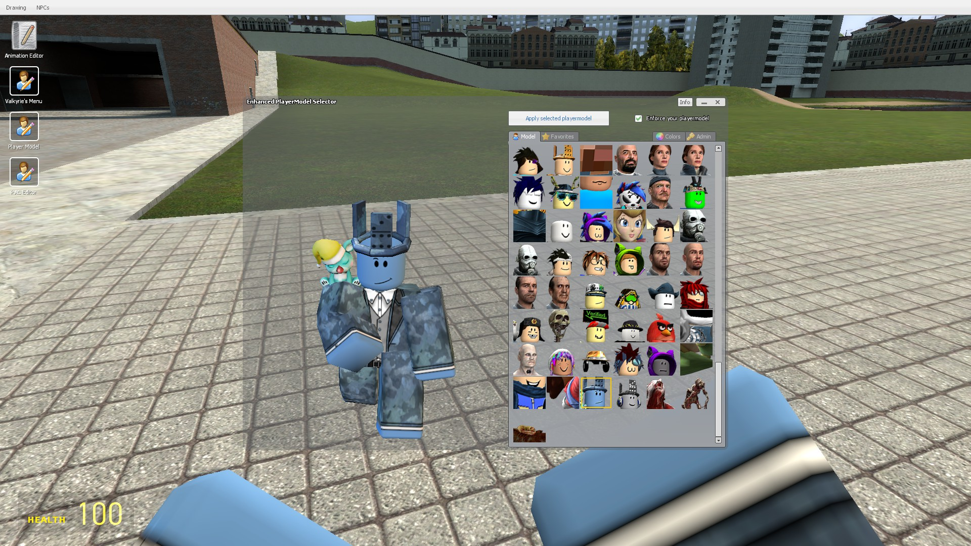 Steam Workshop Roblox Player Model Pack 2