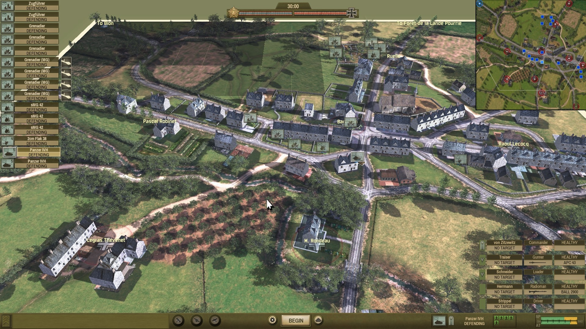 Close Combat The Bloody First – Operation Cobra running