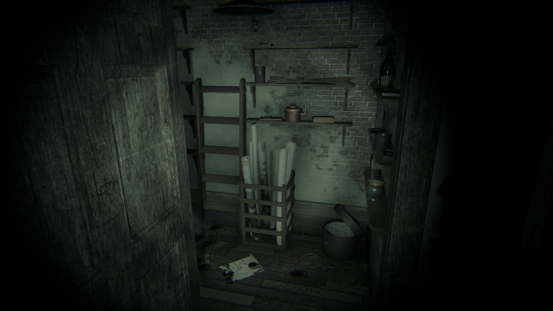 dark basement hd. (Note 3/ Memory/Drawing 3) - Go Down The Basement And You Will Find A Note To Your Left On Table. Little Bit Behind It Is Drawing Stack Dark Hd D