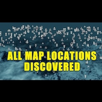 All Solstheim Map Locations Discovered (lit)画像