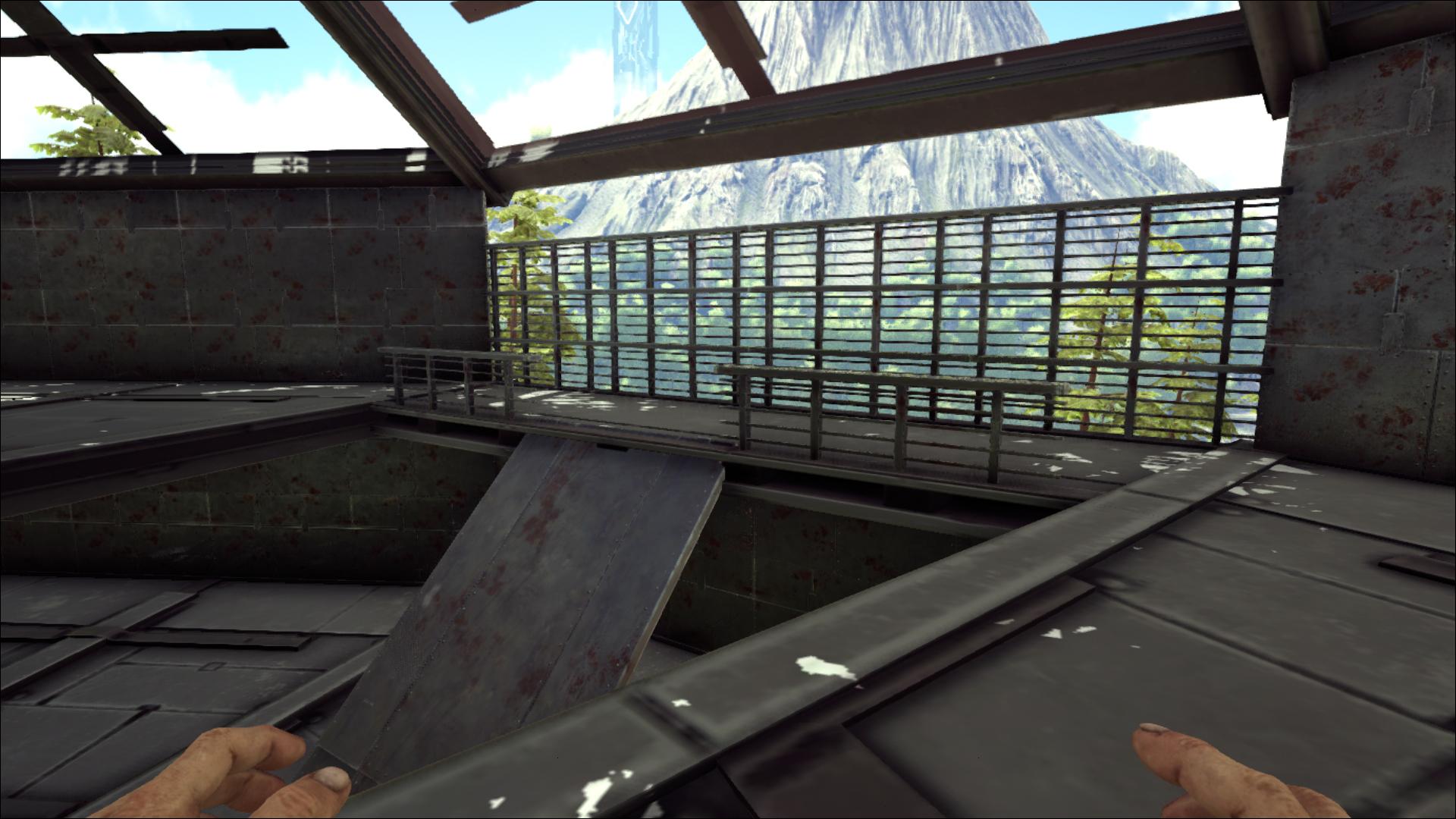 Fresh Ark Sloped Metal Wall
