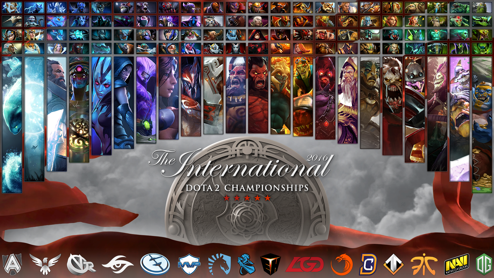 Steam Community The International 2016 All Heroes