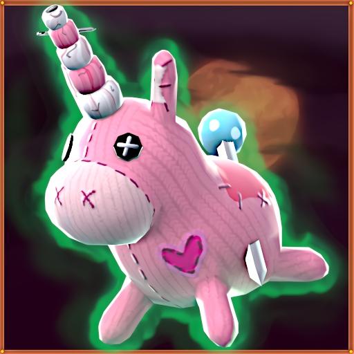 Voodoonicorn (Paint: Pin)