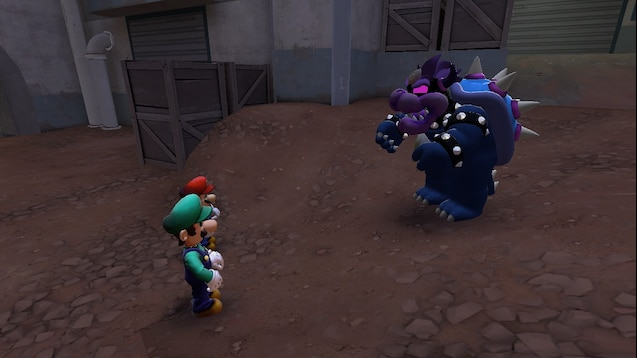 Steam Workshop Mario Luigi Dream Team Dreamy Bowser