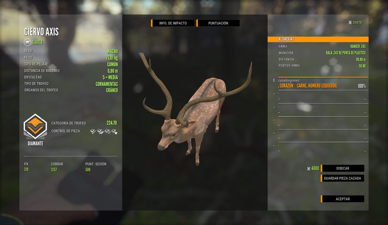 Los ciervos axis truracs ya están aquí. 830A0F076BAD1512AF39800CBA4274F18CBD564E