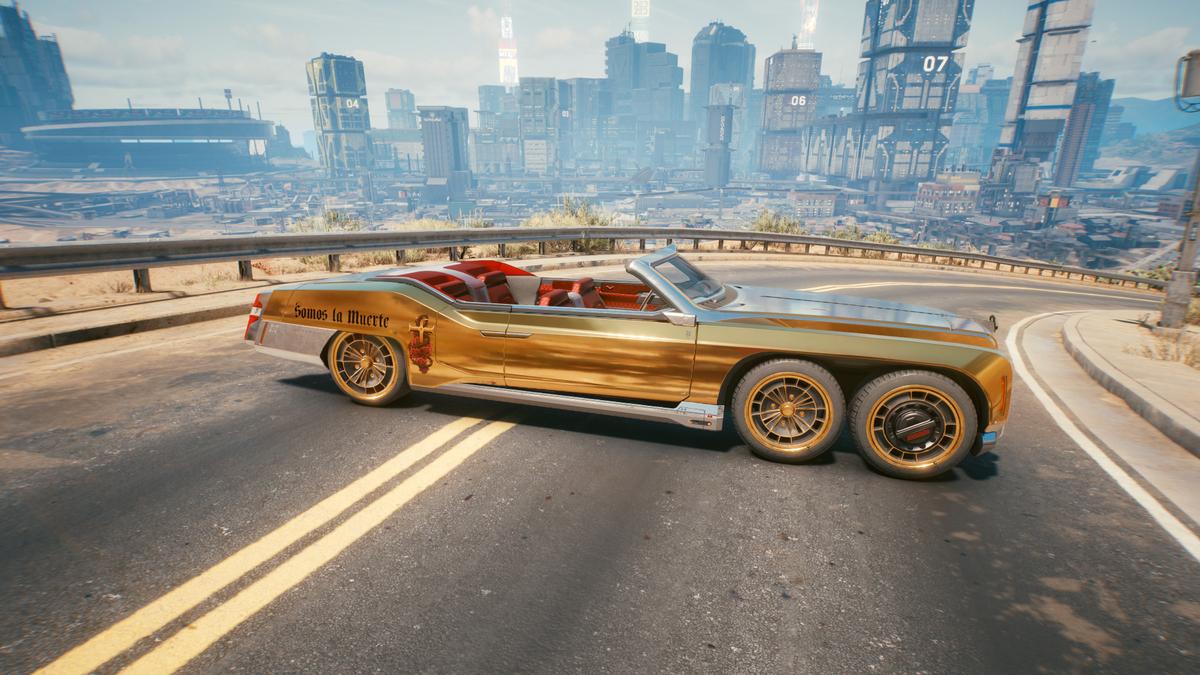 Получаем бесплатные автомобили в Cyberpunk 2077