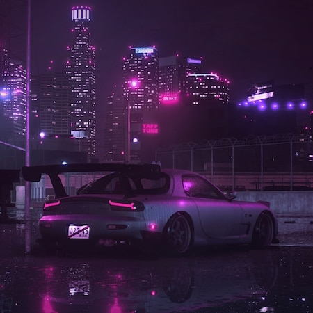 Mazda RX-7 (Audio responsive)   Wallpapers HDV