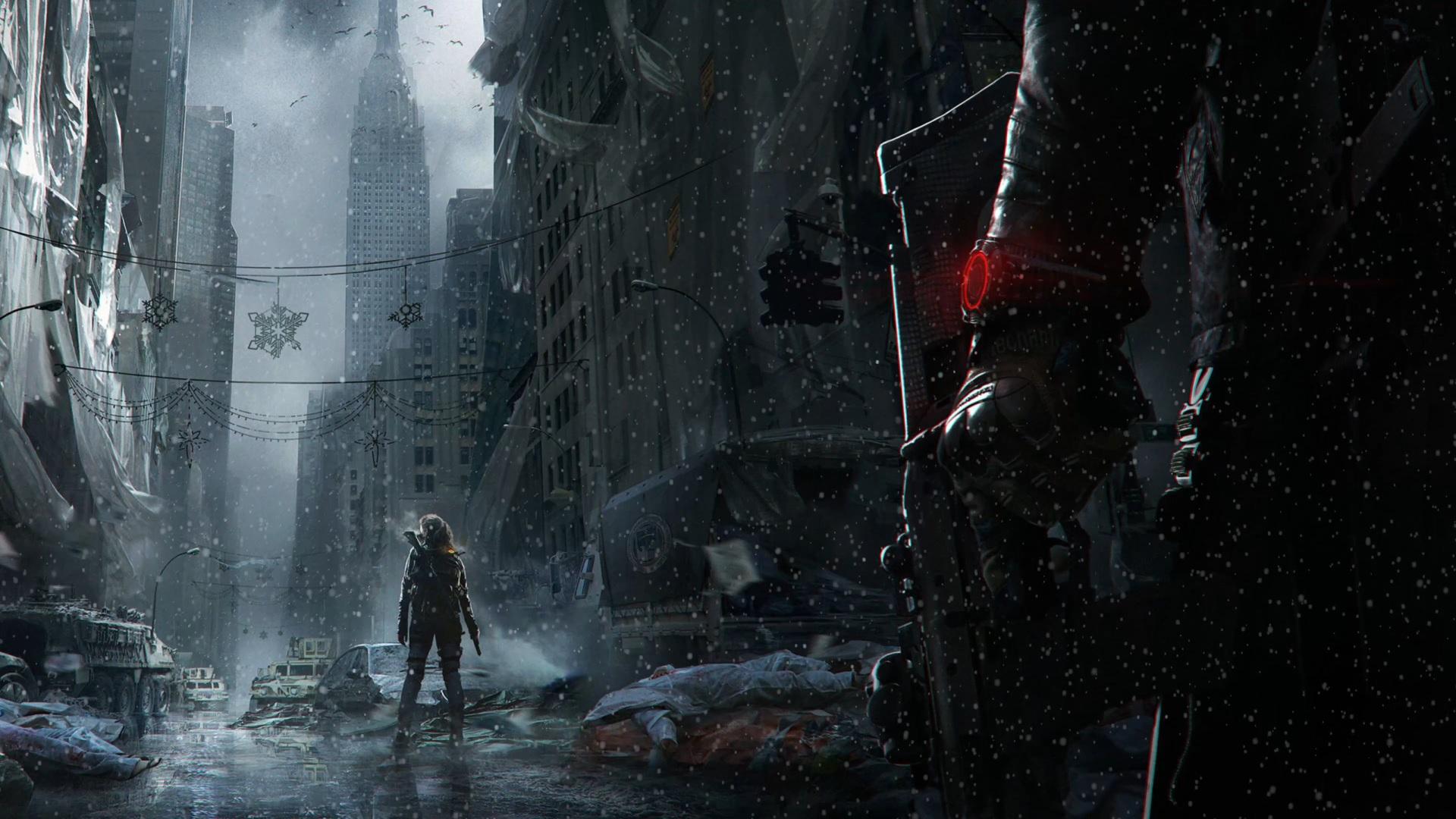 Steam Tom Clancys The Division 4K Wallpaper BGM