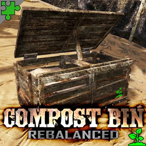 Steam Work Rebalanced Compost Bin