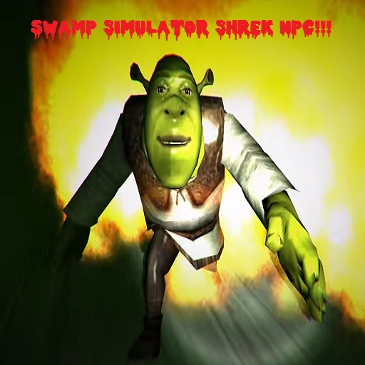Swamp Simulator Shrek NPC
