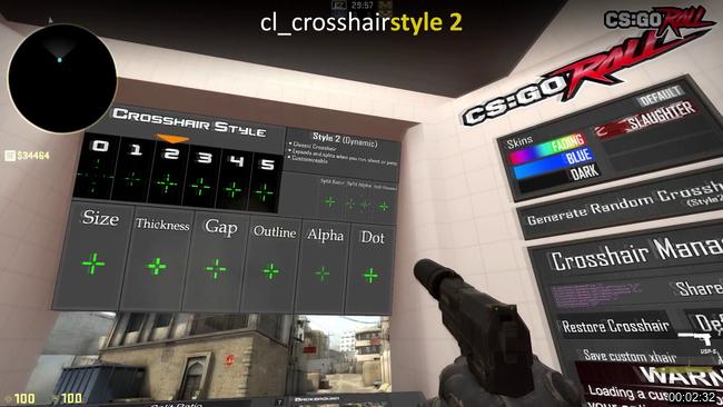 cl_crosshairstyle 2 cs go