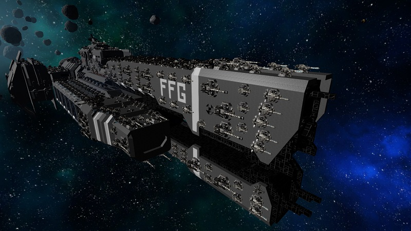 Halo UNSC Frigate MK00 Paranoid