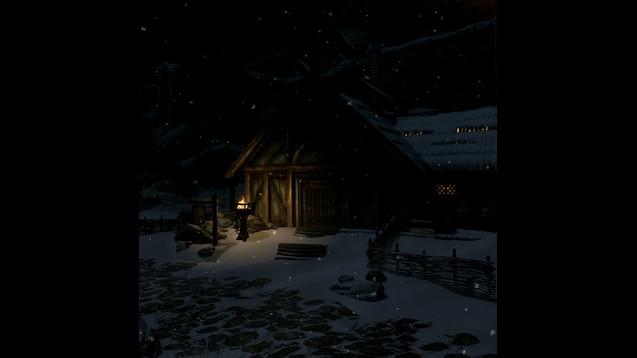 Steam Workshop Skyrim Whiterun Snowy Animated Soundtrack