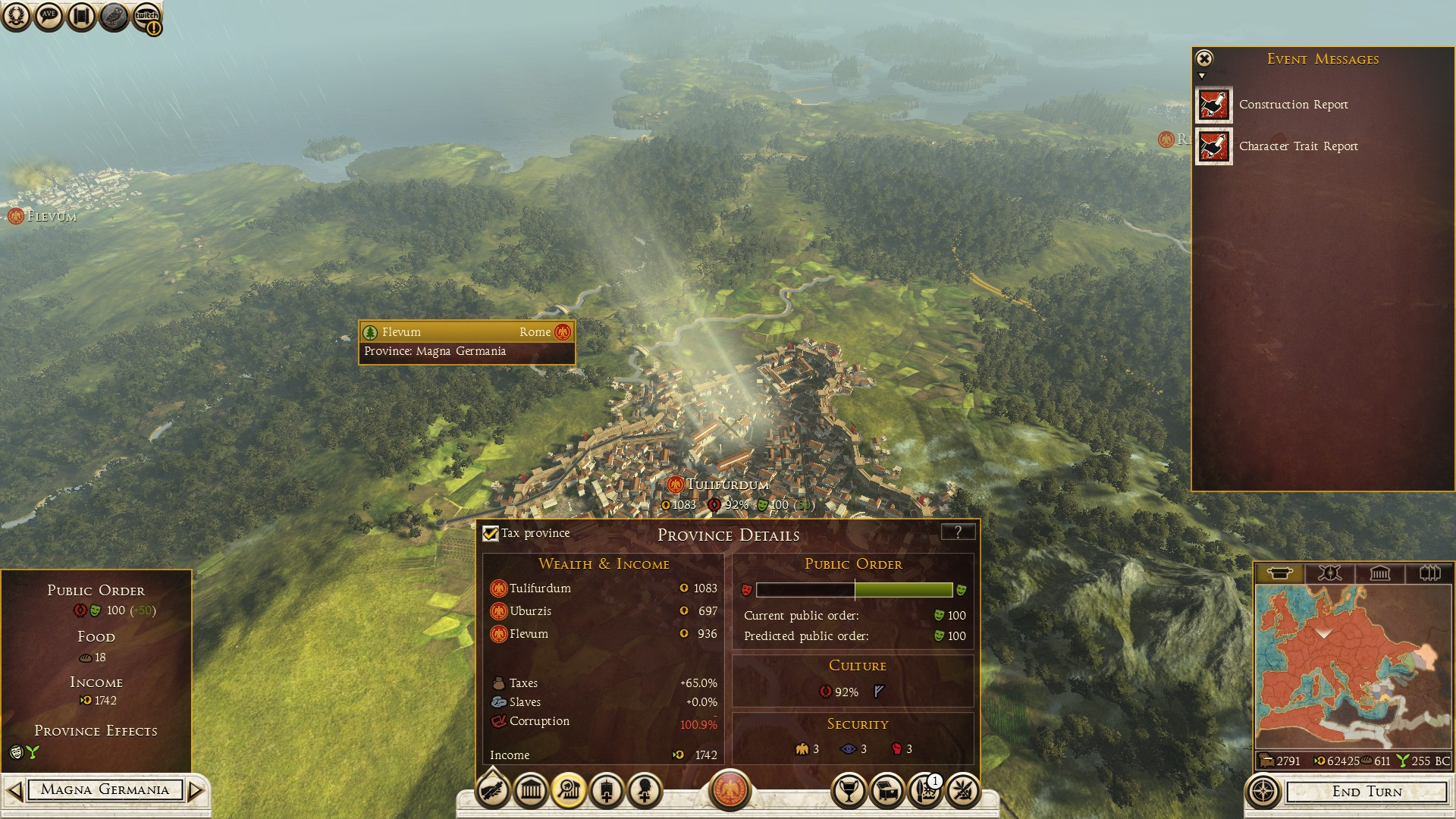Corruption over 100%?! How is that even possible : totalwar