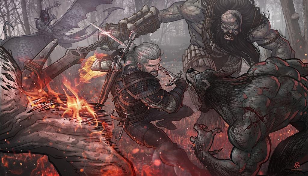 Steam Community The Witcher 3 Wild Hunt Fanart