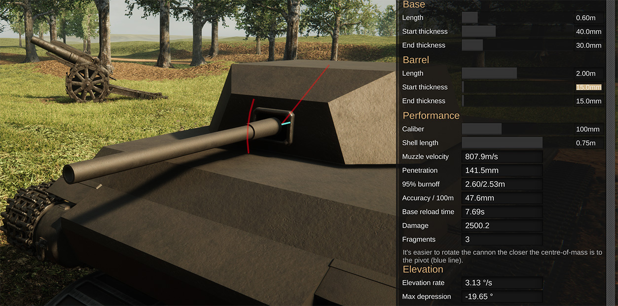 How to optimize cannon Elevation Rate image 1