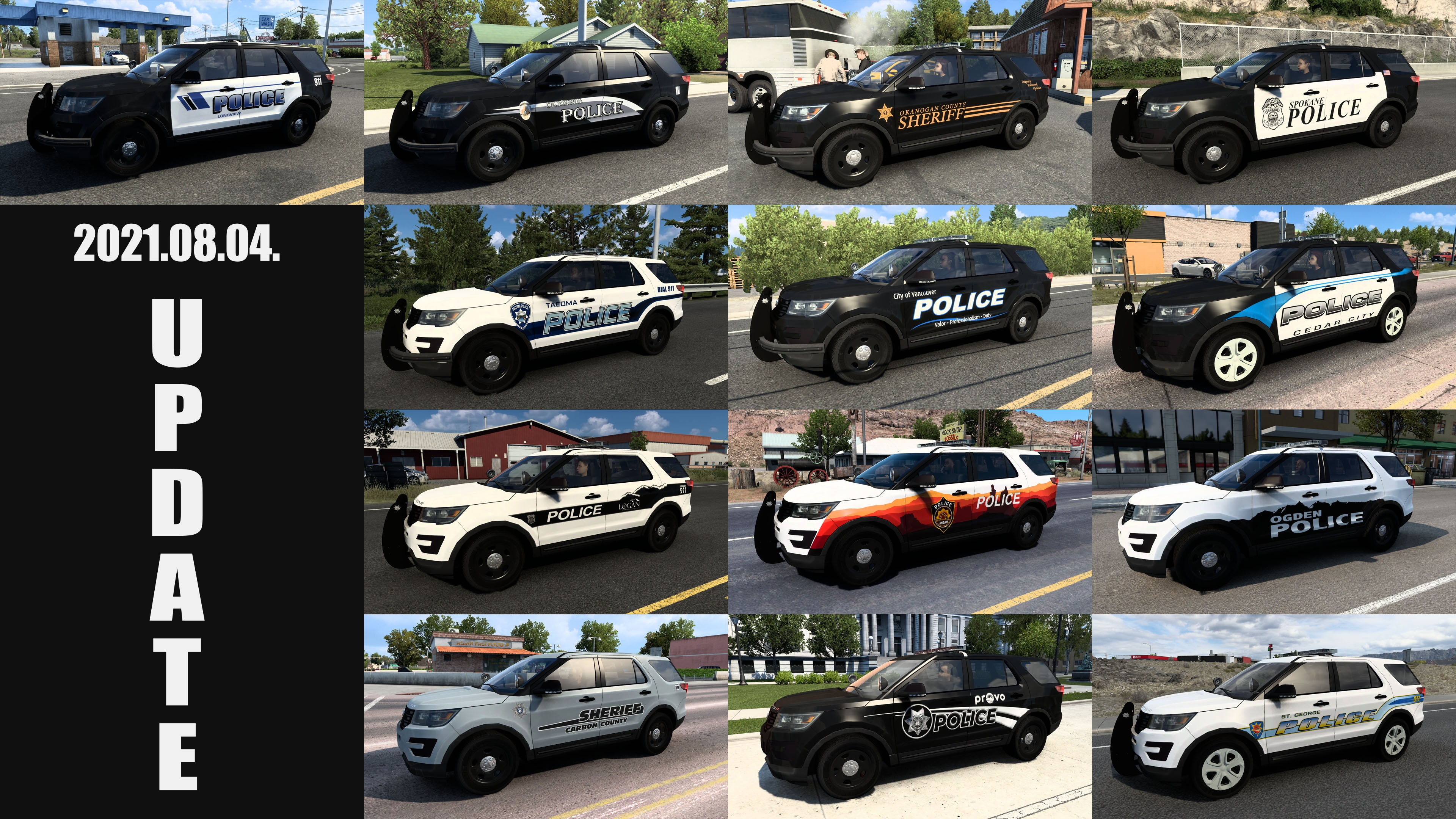 Municipal Police Traffic Pack v1.8 (1.41.x) for ATS