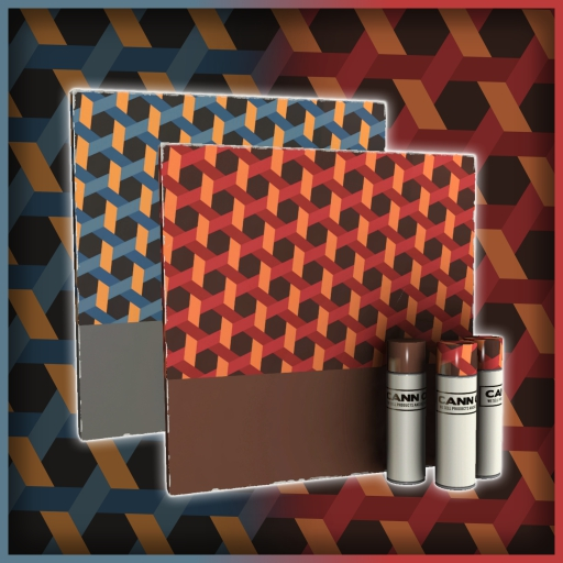 Tessellated Tiling   War Paint
