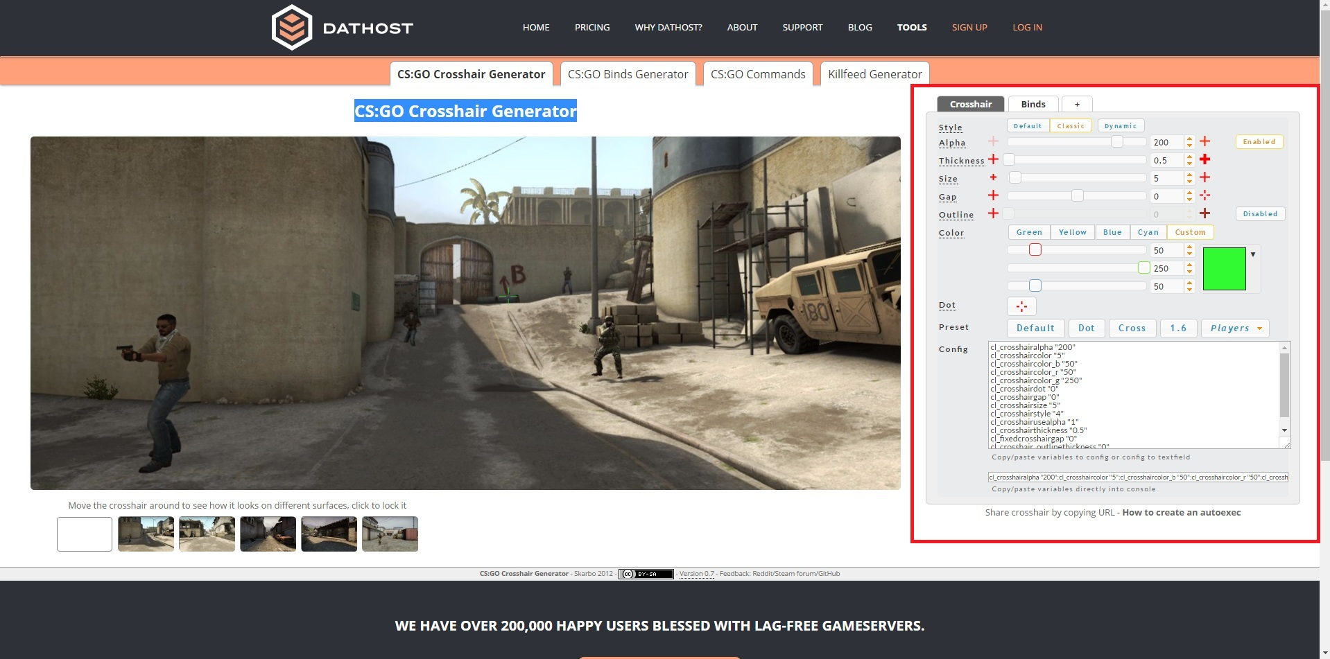 Steam Community :: Guide :: How to config Crosshair / Viewmodel in CSGO