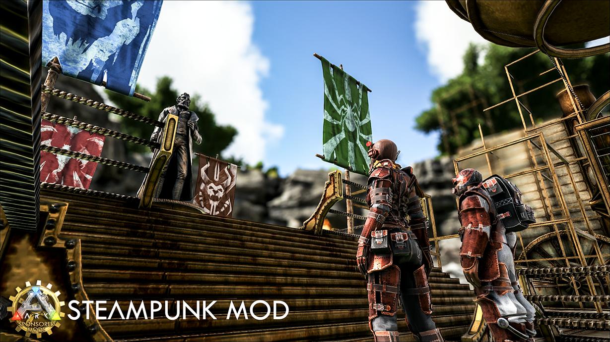 Steam workshop ark steampunk mod textneedflashcapsulelrg malvernweather Choice Image