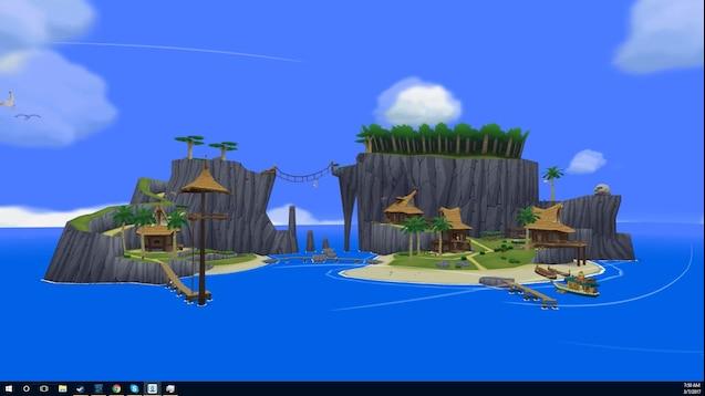 Steam Workshop The Legend Of Zelda Wind Waker Outset
