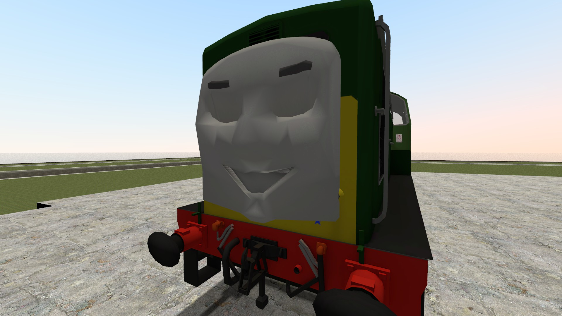 how to make a train horn with expression 2 gmod