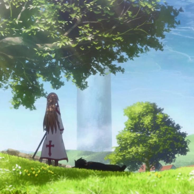 Wallpaper Engine - Sword Art Online - Calm Afternoon