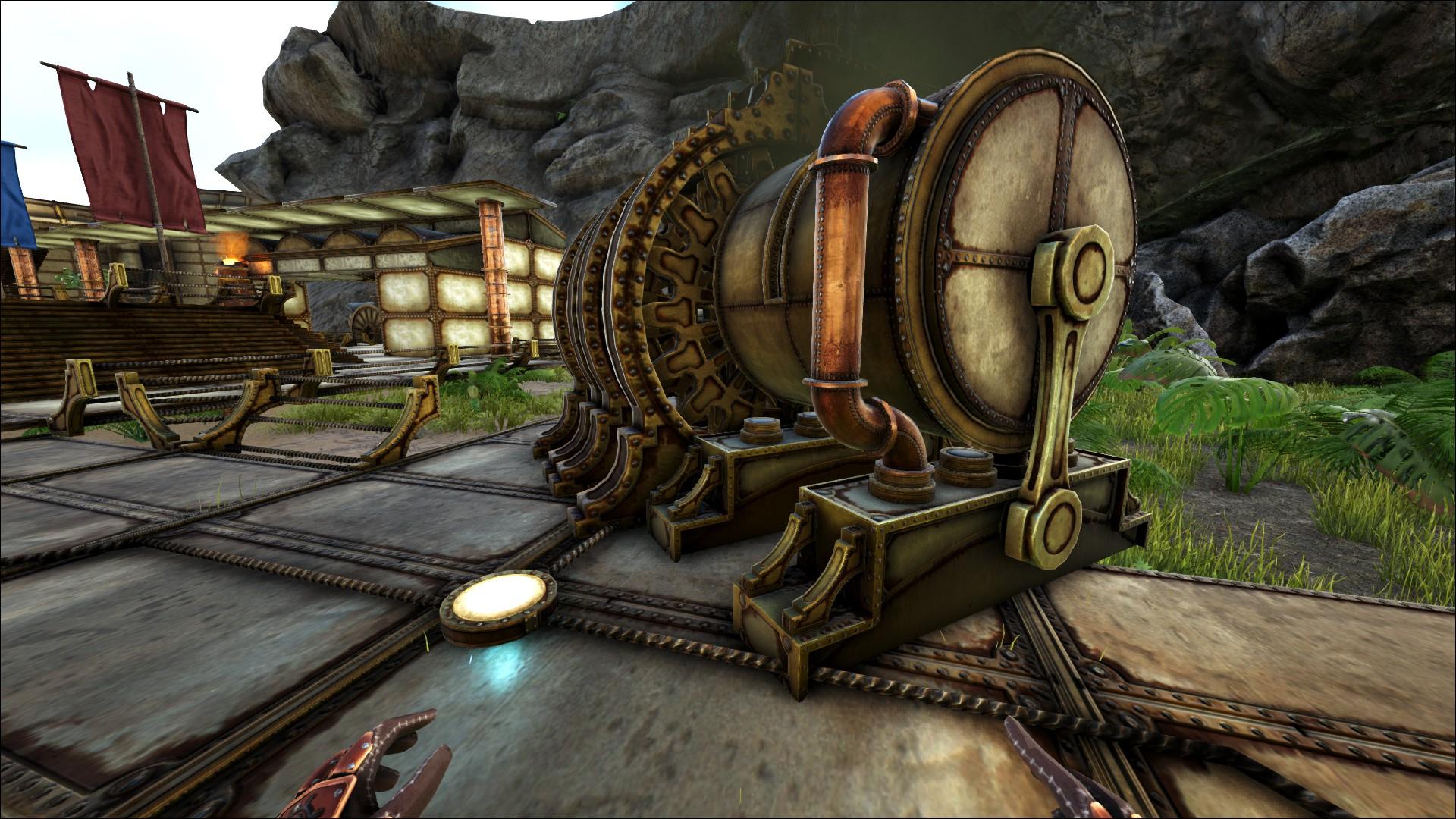 Steam workshop ark steampunk mod malvernweather Gallery