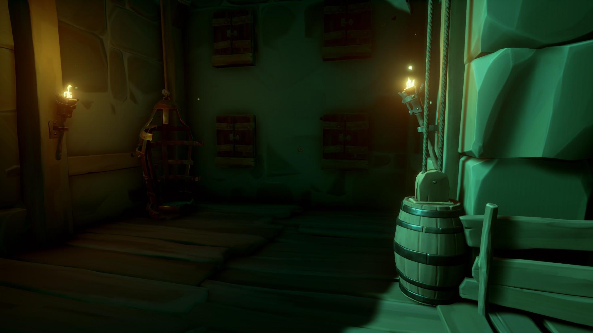 """Проходим """"Капитаны проклятых"""" и получаем дневники в Sea of Thieves."""