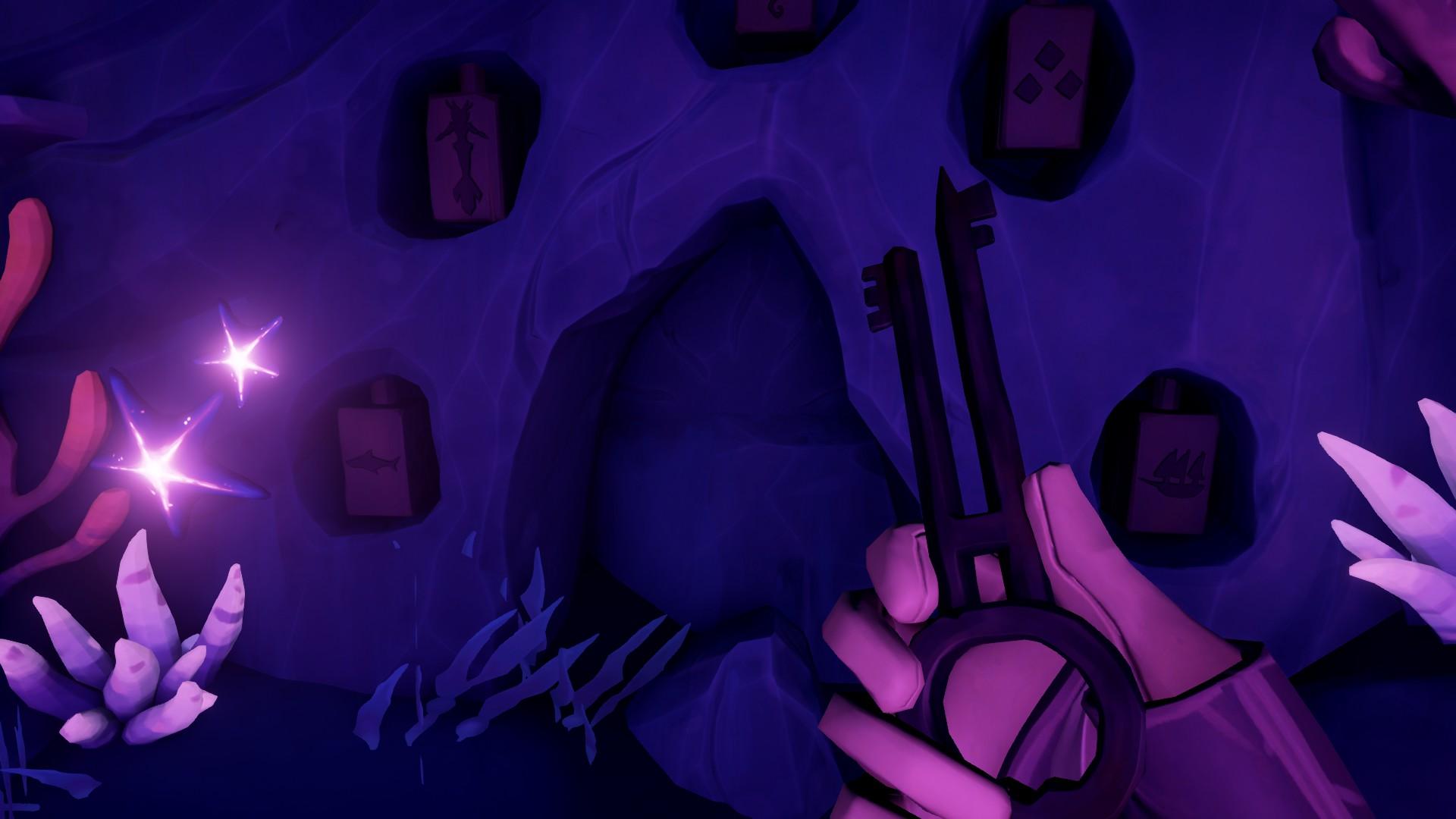 """Проходим """"Темное Братство"""" и получаем дневники в Sea of Thieves."""