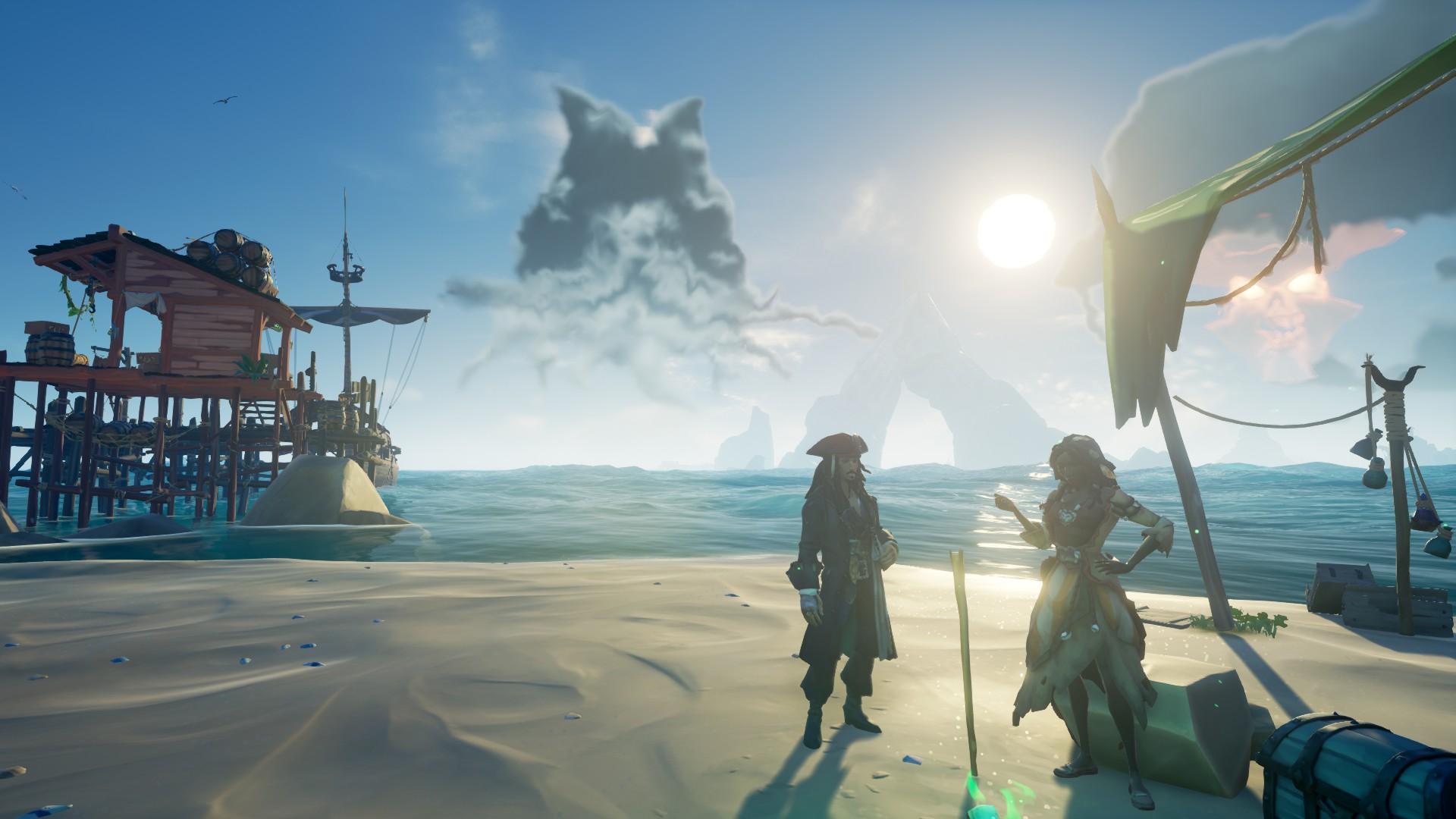 """Проходим """"Повелители морей"""" и получаем дневники в Sea of Thieves."""