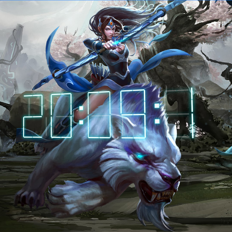 DOTA 2 Mirana Wallpaper Engine