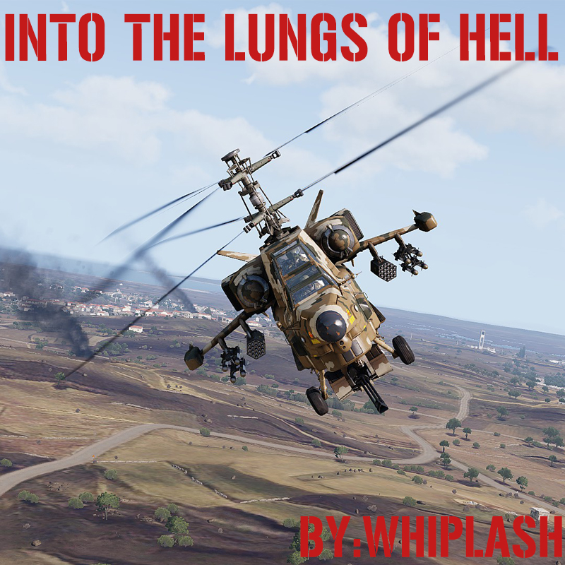 Into the lungs of Hell