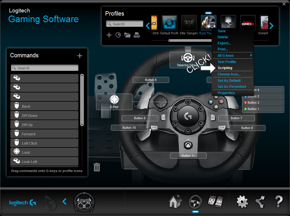 Steam Community Guide Logitech Steering Wheel Scripts And
