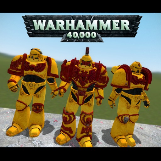 steam workshop hfg imperial fists space marines