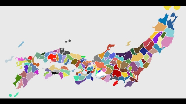 Steam Workshop :: Expanded Japan (97 new regions, 101 new