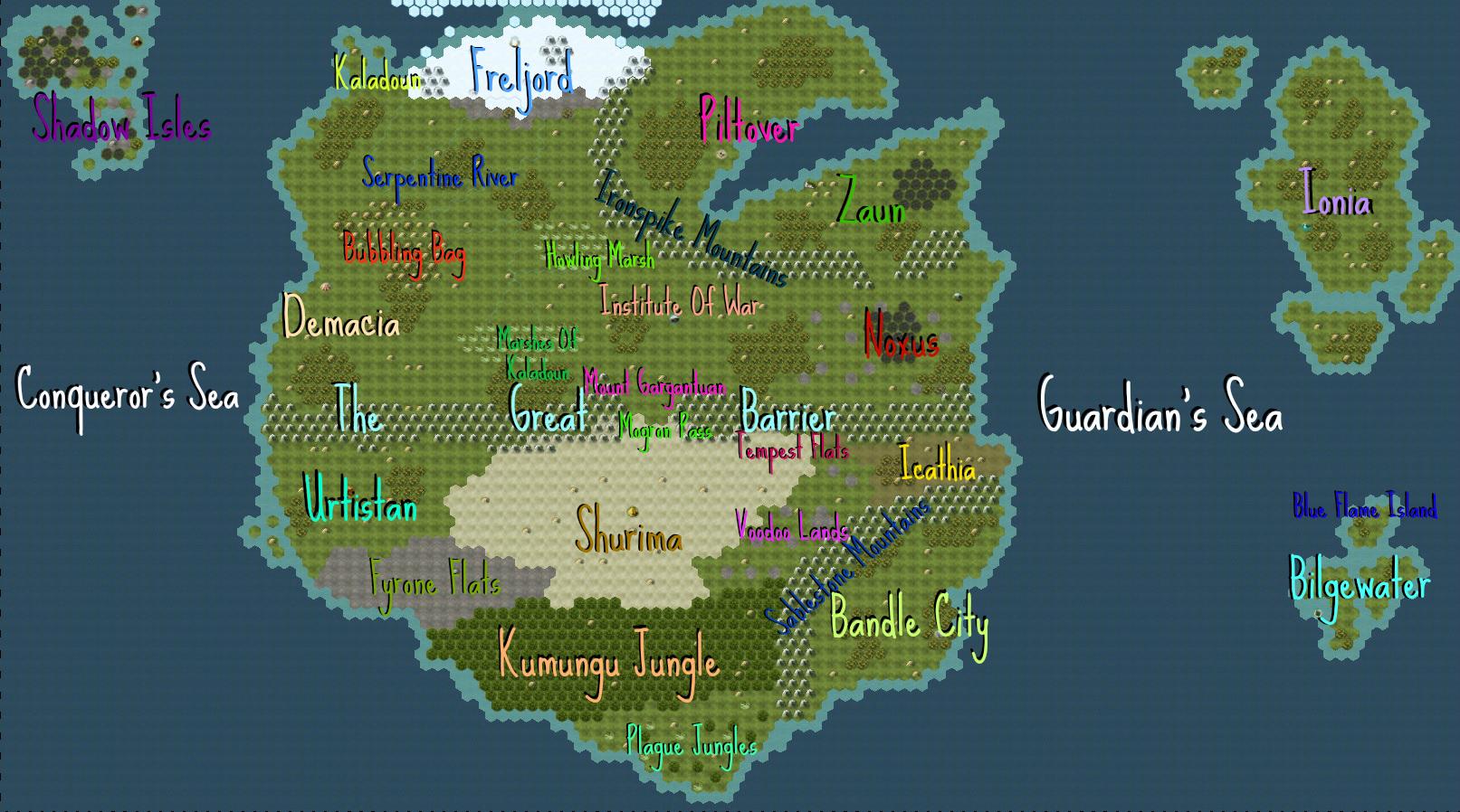 steam workshop dc runeterra map from league of legends
